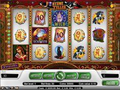 Lady of Fortune é um videojogo de slots com cinco cilindros.