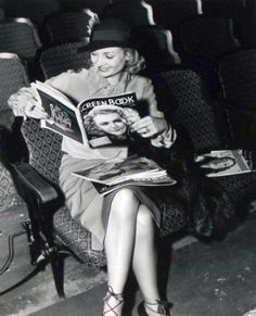 """Jack Albin took this photo of Carole Lombard in September 1937, awaiting Clark Gable to finish his rehearsal of """"Cimarron"""" on """"Lux Radio Theater."""""""