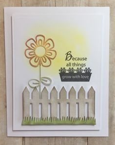 Hope and Chances Creativity: Wonderful response, Sketched Blooms 2 and Picket Fence!