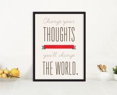 Change Your Thoughts | Fresh Words Market