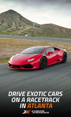 Make your dreams a reality in a selection of the world's best cars at the Atlanta Motorsports Park from Nov. 11-13, 2016. Put the pedal to the metal in a Ferrari 458 Italia, Lamborghini Huracan, McLaren 570S, Porsche GT3 or Nissan GT-R. This is one Xperience you won't want to miss! Reserve your Supercar Xperience today for as low as $219. Space is limited!