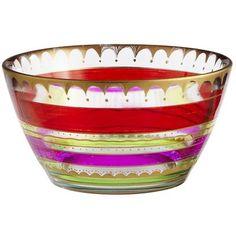 Festive Stripes Bowl
