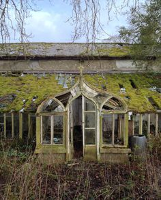 Gothic style greenhouse at Bloomsbury, Co. Meath, Ireland