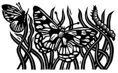 #57: Butterflies (100mm x 160mm) £65-00