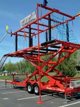 Rope A Phobia® mobile ropes course all for children and kids, adults love it as well