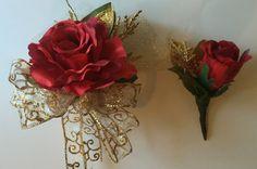 Golden Anniversary Corsage, 50th Anniversary corsage