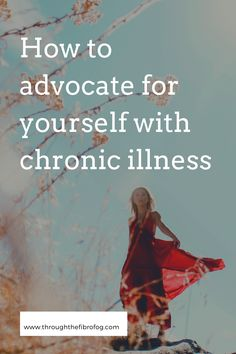 How to advocate for yourself when you live with chronic illness or health conditions for accessing medical care and finding support with conditions. Aspects of your healthcare such as tracking symptoms, finding the right doctor and finding support in the chronic illness community with others who have migraine, fibromyalgia, POTS / dysautonomia and other medical conditions.