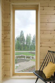 Panorama windows by Profin. Honka Lumi.