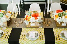 TULIP Design Studio - Inspiration Shoot: A Mid-Century, Modern Wedding