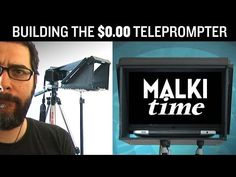 Video: Building a DIY TelePrompTer for $0.00 Hilarious AND Helpful!
