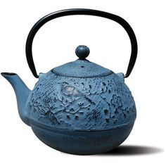 Cast Iron Suzume Teapot 24 Ounce - Overstock™ Shopping - Big Discounts on Old Dutch Tea Kettles/Teapots