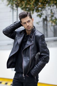 Dirty in Rubberboots Biker Leather, Leather Blazer, Leather Men, Leather Jackets For Sale, Haircuts For Men, Men's Haircuts, Men's Hairstyles, Leather Jacket Outfits, Gay