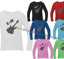 Marela - Dětské triko - Rock | Originální těhotenská móda Graphic Sweatshirt, Rock, Sweatshirts, Sweaters, Baby, Fashion, Moda, Fashion Styles, Skirt