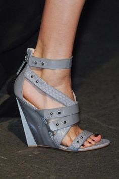 Shoes! The Best From New York's Spring 2013 Runways - - shown Prabal Gurung Spring/Summer 2013 from Fashionologie blog #shoes