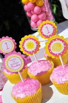 Lemonade and Sunshine Birthday Party Ideas | Photo 16 of 19