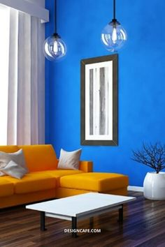 Blue wall paint colours: paint any room in your house blue and see how everyone adores it. Research extensively and choose the right hue of blue paint to reflect your refined taste. // wall painting ideas for home // blue house paint // blue colour wall paint design // blue wall paint combinations #housepaint #wallpaintings #homepaintingideas #bluehousepaint #bluecolorwallpaintingideas Bedroom Wall Paint Colors, Room Wall Painting, Blue Paint Colors, Paint Colors For Home, Wall Colors, House Colors, Blue Painted Walls, Blue Walls, Wall Paint Colour Combination