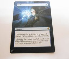 MTG Altered Painted Stifle Conspiracy #WizardsoftheCoast