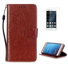 Yrisen 2in 1 Huawei P9 Lite Tasche Hülle Wallet Case Schu…