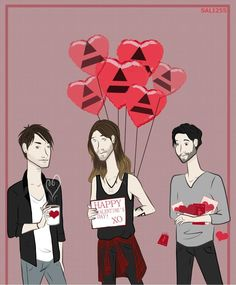 Happy Mars Day! Jared, Tomo, Shannon Every Day is Mars Day to be specifically.