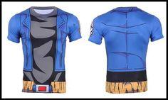 Hipsterme Ball Z Men 3D Dragon Ball Z T Shirt Vegeta Goku Summer Style Jersey 3D Tops Fashion Clothing Tees Plus