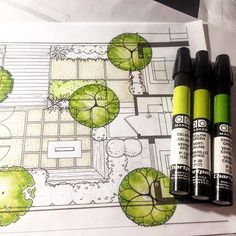 "Eric Arneson on Instagram: ""#landscapearchitecture #landscapedesign #project  #landarch #art #sketch #ARQSKETCH #artschool #artist #archilovers #arquitetura…"""