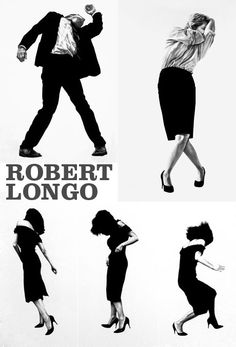 Robert Longo's Men In Cities series - gorgeous @Christine Mitchell couldn't agree more.