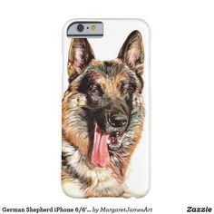 German Shepherd iPhone 6/6's case Iphone Phone Cases, Iphone 6, Dog Phone, Holiday Photos, Original Paintings, German, Chloe, Animals, Products