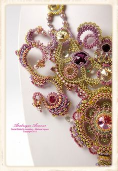 Arabesque Armour by Social Butterfly Jewellery, via Flickr  I really like the twists and turns
