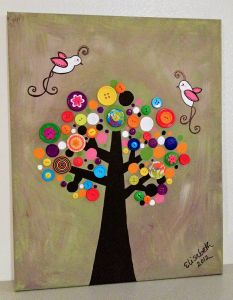 Button Tree, I love this
