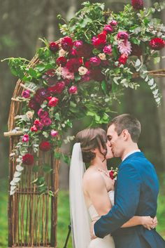 The Most Popular Wedding Color Trends For 2017 ❤ See more: http://www.weddingforward.com/wedding-color-trends/ #wedding #trends #color