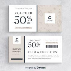 discount voucher Plain gift voucher Free V - discount Web Design, Print Design, Christmas Gift Vouchers, Gift Voucher Design, Banner Design Inspiration, Ticket Design, Referral Cards, Discount Vouchers, Certificate Design