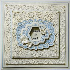 PartiCraft (Participate In Craft): Thanks So Much Configurations Elegant Lace Edger, Portuguese Sintra, Perfect Peonies