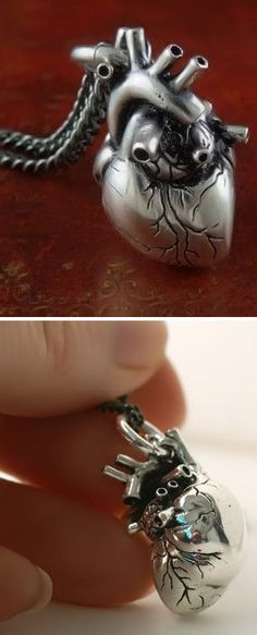 Anatomical Heart Necklace ♥
