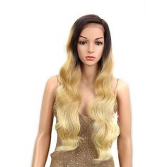 Cheap Synthetic None-Lace Wigs, Buy Directly from China Suppliers:Miracle Ombre Wig Body Wave Side Part Lace Front 150 Density 28 Inches Long Blonde Heat Resistant Synthetic Wigs For Black Women Big Wavy Curls, Long Hair Waves, Synthetic Lace Front Wigs, Synthetic Wigs, Human Lace Wigs, Natural Hair Styles, Long Hair Styles, Ombre Wigs, Hair Quality