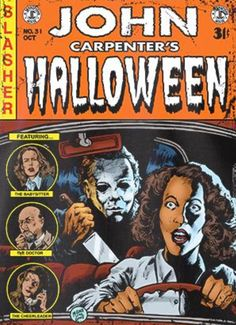 Michael Myers Monday (Part - Featuring the babysitter, the doctor, & the Boog. Best Horror Movies, Classic Horror Movies, Horror Show, Horror Films, Scary Movies, Horror Art, Horror Icons, Horror Movie Posters, Horror Comics