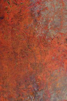 peinture abstraite US : Rebecca Crowell, orange pâle