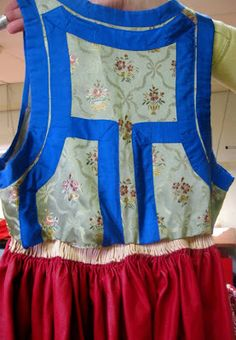 Here's another bodice closeup from Skåne, specifically Ingelstad parish