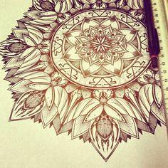 Solstice Mandala Project Day013 by OrgeSTC.deviantart.com on @deviantART
