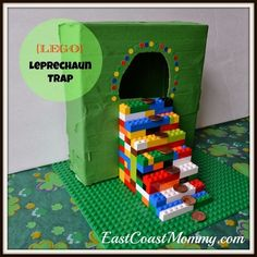 Lego Leprechaun Trap | 24 Super Fun St. Patrick's Day Crafts For Kids