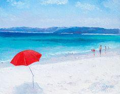 Beach paintings for coastal decor  #beachart #beachdecor #beachhousedecor