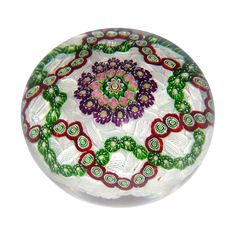 CLICHY - Outstanding Antique Classic Period Paperweight from barkusfarm on Ruby Lane