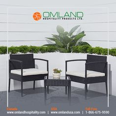 This Tierra 3-piece Wicker Bistro Set allows you to bring a classic style to your patio, garden, backyard, poolside, front porch, balcony, or even your indoor area. #patio #patiofurniture #woodfurniture #hotel #hotelier #cottages #airbnbs #resorts #restaurants #outdoor #hospitality #omland Wood Furniture, Outdoor Furniture Sets, Outdoor Decor, Backyard, Patio, Bistro Set, Hospitality, Front Porch, Resorts
