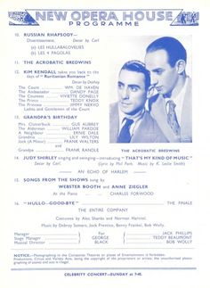 Opera House – Summer Season Programmes - Blackpool Postcards Rogers Tv, Brian Rogers, Harry Bailey, Arthur Askey, Brian Conley, Danny La Rue, Meg Johnson, Betty Driver
