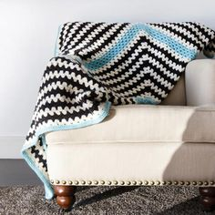 Vickie Howell Mod Wool Granny Throw Kit - BABY – Deramores