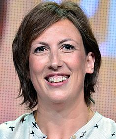 """Season 2 of """"Call the Midwife"""" ended with Chummy (Miranda Hart) giving birth to a baby boy, and Hart says her character is taking to being a mom very nicely."""