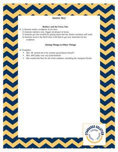 PARCC 3rd Grade Reading Lesson Plan Samples Pg. 9