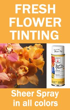 Tinting and Dying Fresh Flowers  Learn how to make bridal bouquets, wedding corsages, groom boutonnieres, church decorations and reception centerpieces.  Buy wholesale flowers and discount florist supplies