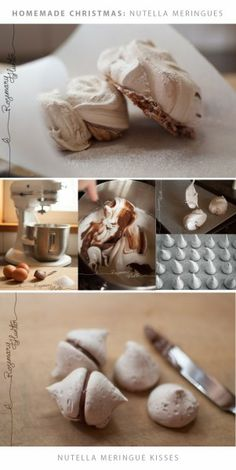 Homemade Christmas: Nutella Meringues - nzgirl