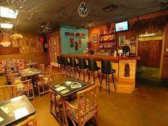 The Okolemaluna Tiki Lounge in Kailua-Kona