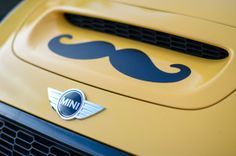 This mustached MINI is our Movember muse. What's yours?